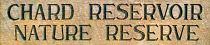 Chard reservoir sign